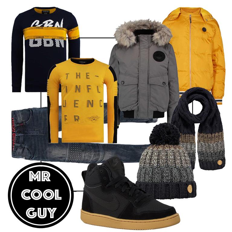 stoere jongenskleding, gabiano, retour jeans, nike sneakers, costbart, nummer zestien