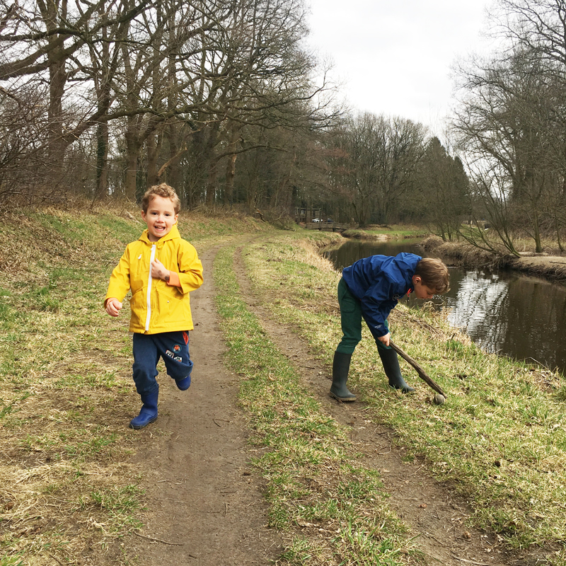 wandelen met kinderen, herfstwandeling, gezins blog
