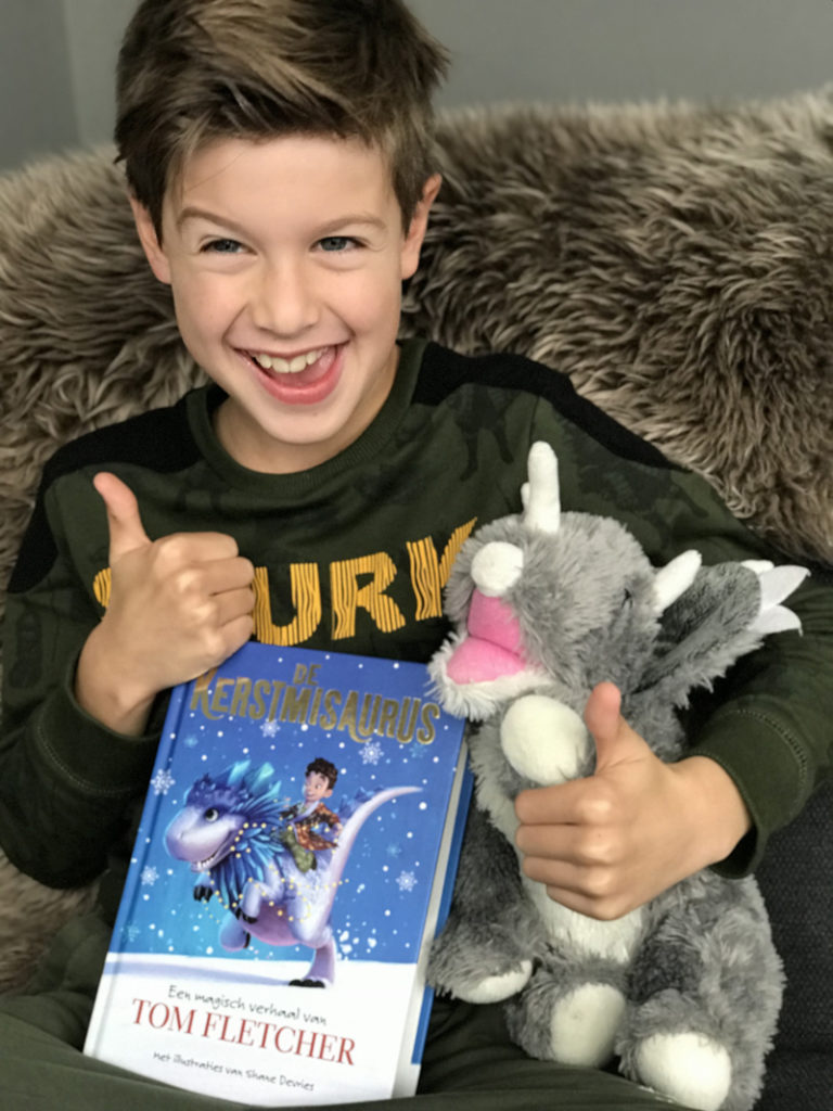 De kerstmisaurus, kerstboek, kerstverhaal, kinderboek, kerstwinactie