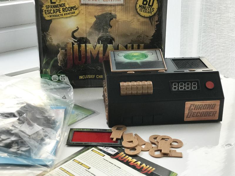 Jumanji Escape room spel