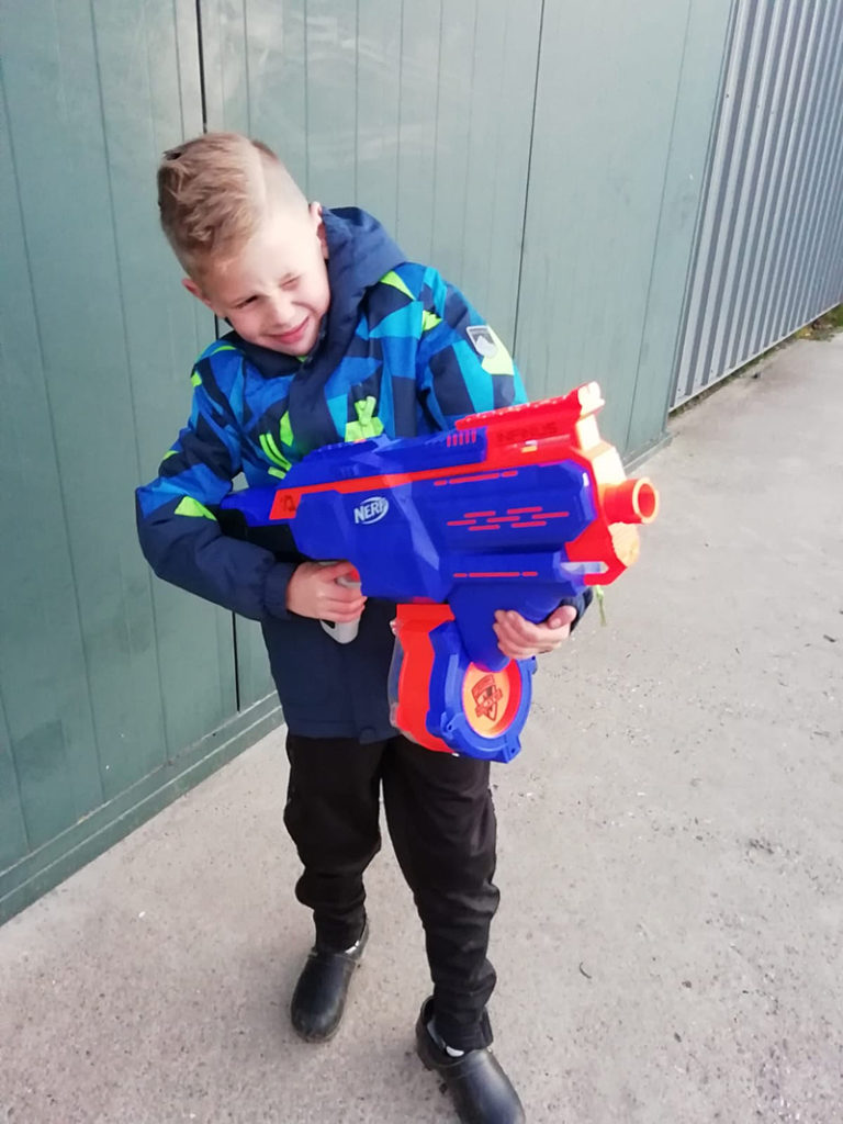 NERF, boyslabel, nerf review, speelgoed test