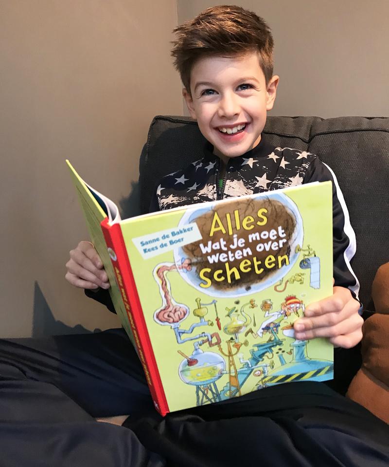 schetenboek, alles wat je moet weten over scheten, boyslabel