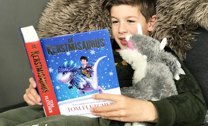de kerstmisaurus, kerstboek