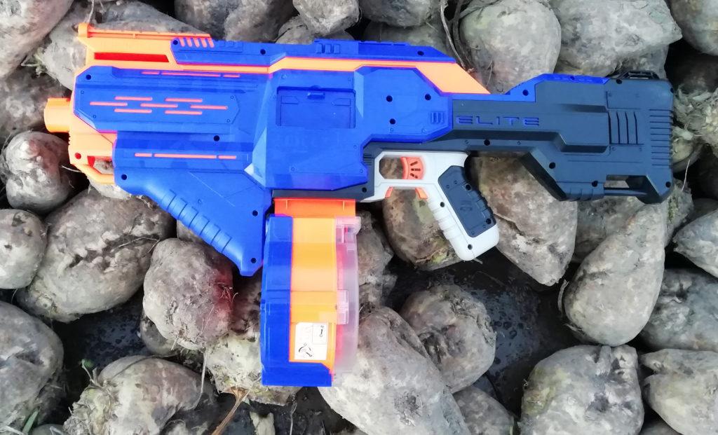 nerf infinus, nerf, nerf speelgoed, speelgoed geweer, machinegeweer, jongensspeelgoed, jongenscadeau