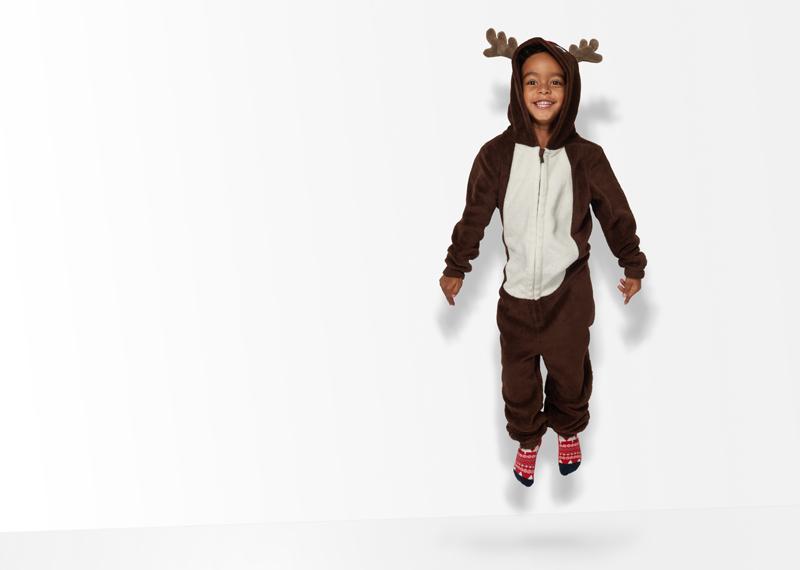 onesie kerst, kerst outfit, onesie rendier