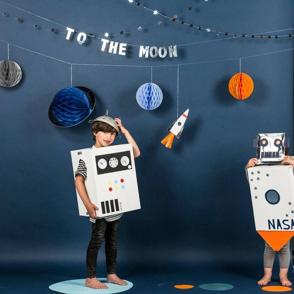kinderfeest, astronautenfeest, space feest, hieppp