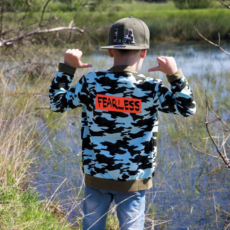 LEGENDS22, camouflage print, stoer jongensvest, kinderkleding, jongenskleding, zomerkleding jongens, stoere jongenskleding