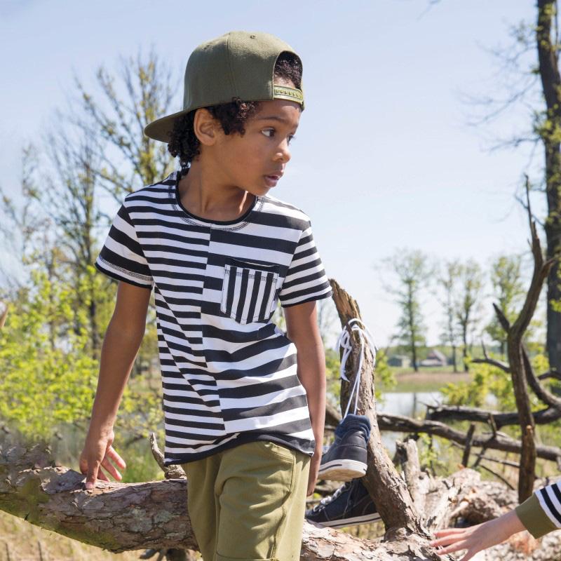 LEGENDS22, streept jongens shirt, kinderkleding, jongenskleding, zomerkleding jongens, stoere jongenskleding