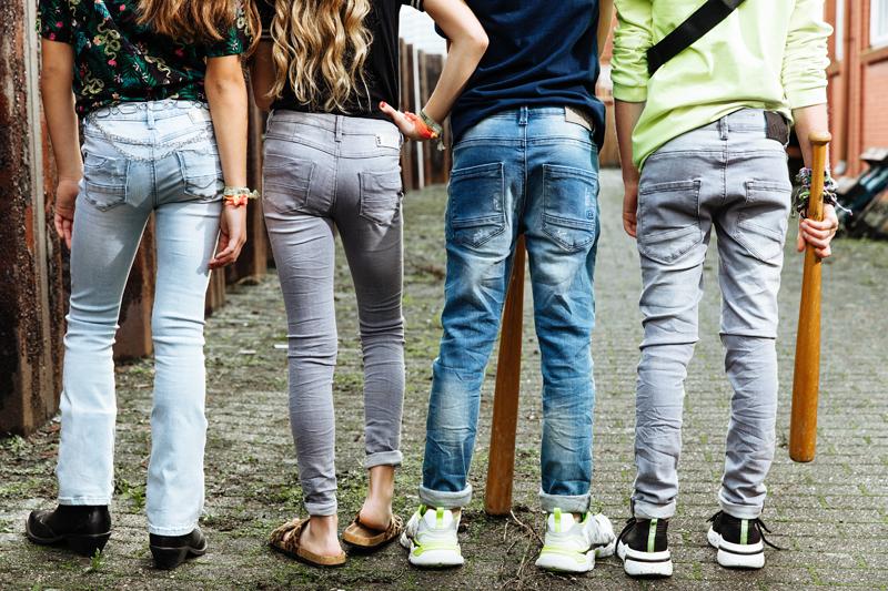 indian blue jeans spijkerbroek, stoere kinderspijkerbroek