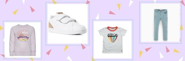 kindermodeblog, kinderkleding trends voorjaar zomer, retro candy, fashion trends