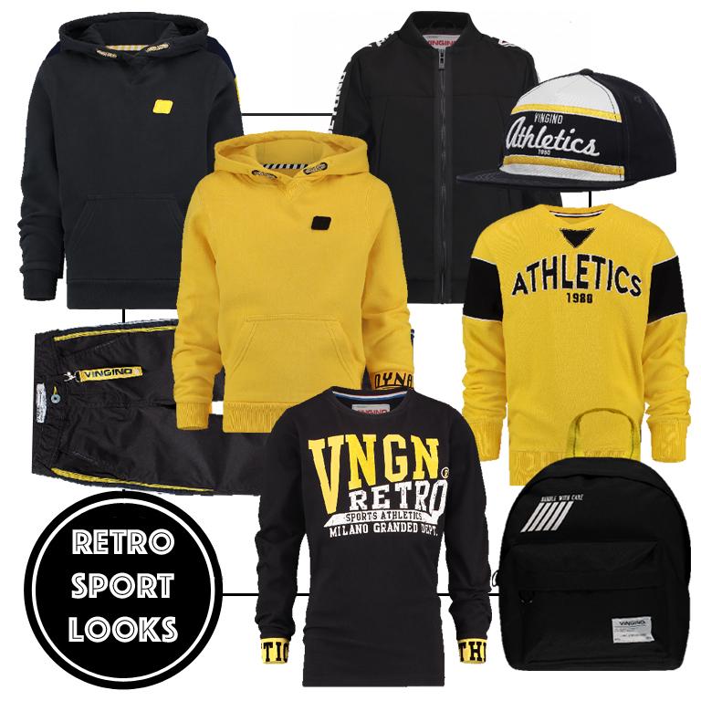 retro sport look, spring 2019, stoere jongenskleding, get the look jongens kleding