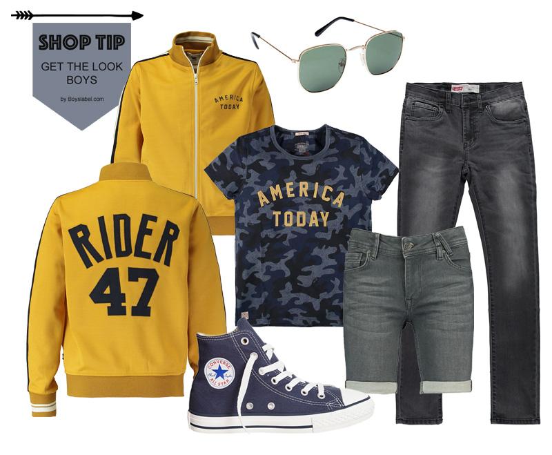 Shop tip boys, jongenskleding, jongensoutfit