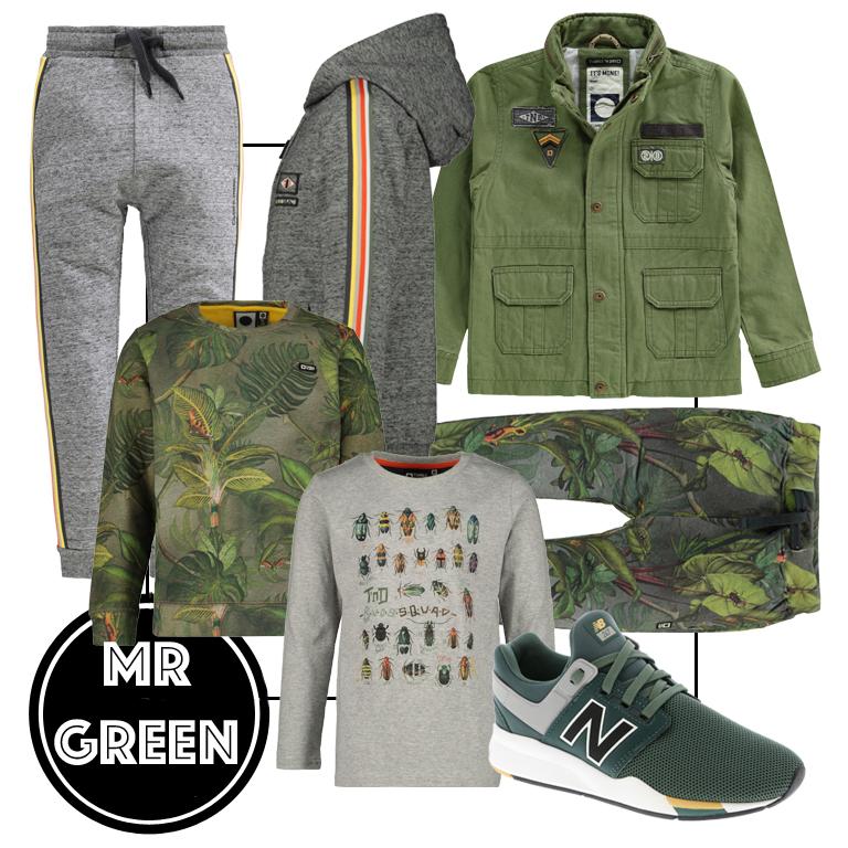 groene jongenskleding, groene kinderkleding, kinderkleding voorjaar 2019, tumble n dry, get te look jongens kleding