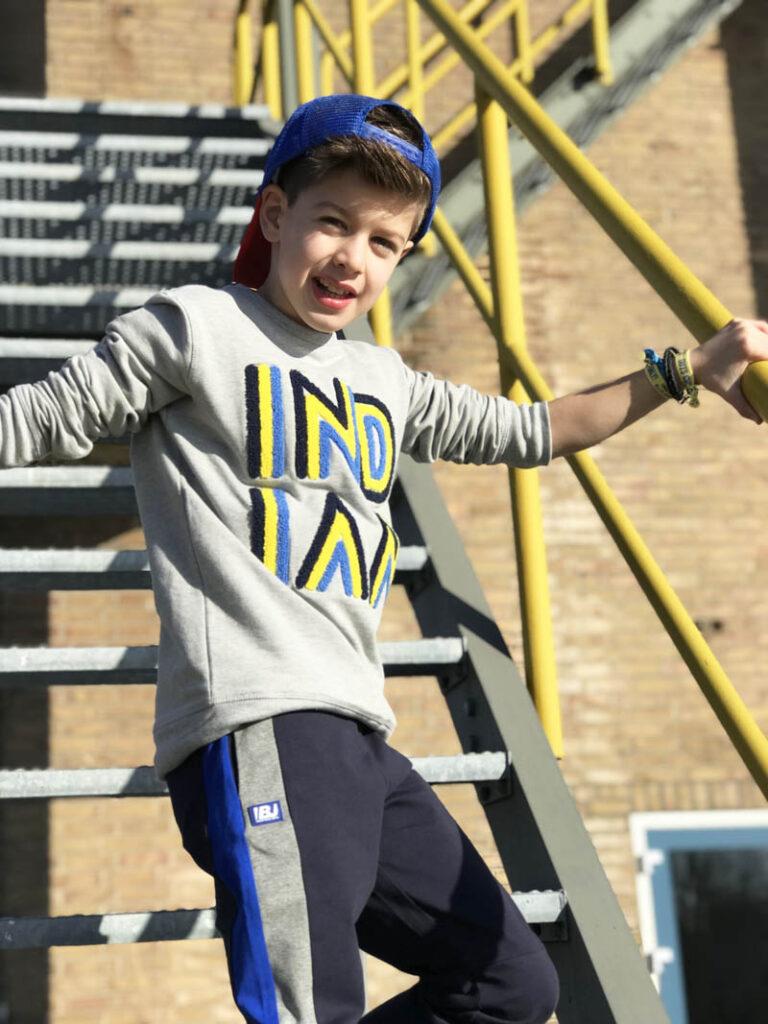 jongensmodeblog, kindermodeblog, jongenskleding, indian blue jeans, kinderkleding voorjaar 2019, kindermode, stoere jongenskleding, sportieve kinderkleding, cool kid, kindermodel, boysfashion