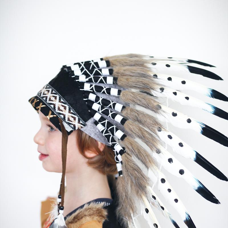 indianentooi, indianenkostuum, verkleedkleding indiaan