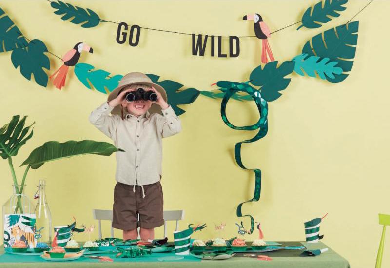 jungle feestje, kinderfeestje, jongensfeest