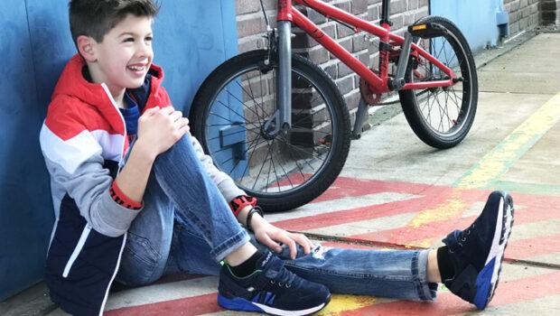 rood wit blauw kleding kind, stoere jongenskleding