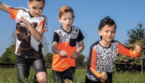 tshirt met voetbalprint, voetbalprint kleding, legends22, jongenskleding