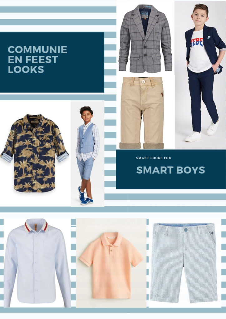 Communie kleding, feestkleding jongens