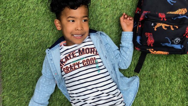 Denim blouse jongen, denim blouse quapi, quapi boys, quapi ss19