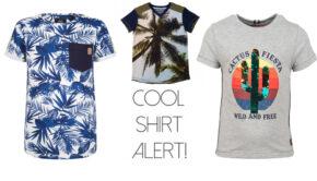 JONGENS T-SHIRTS, t shirts voor jongens, zomermode jongen