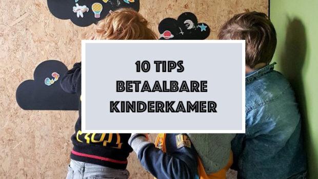tips betaalbare kinderkamer, low budget kinderkamer