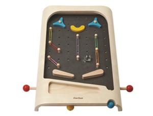 houten flipperkast, speelgoed flipperkast, soeelgoed voor jongens