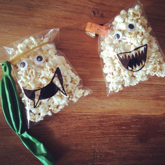 popcorn traktatie