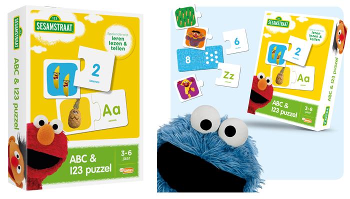 sesamstraat abc puzzel, sesamstraat puzzel, speelgoed winnen, speelgoed winactie