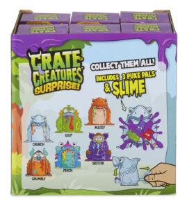 crate creatures barf buddies, crate creatures, mga