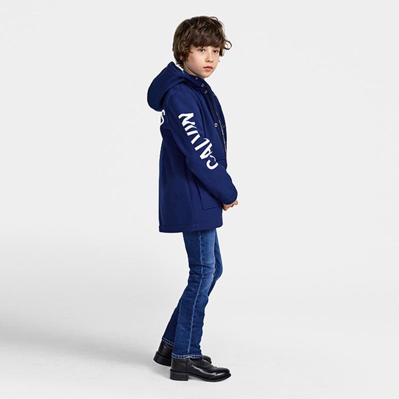CalvinKlein kinderjas, blauwe jongensjas