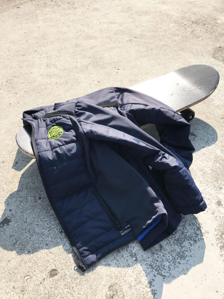 blauwe zomerjas jongen, retour jeans zomerjas, kinderjassen, blauwe kinderjas