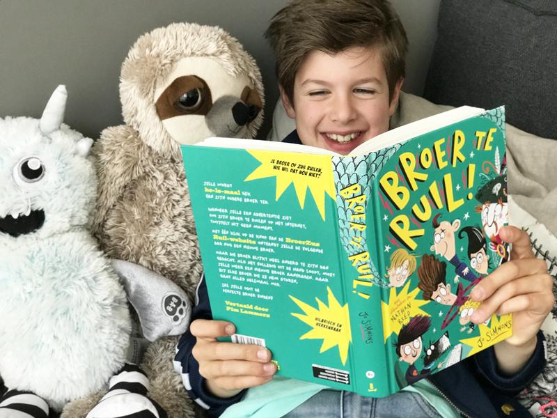 broer te ruil, broer te ruil kinderboek, Jo simmons, Nathan Reed, Billy Bones uitgever