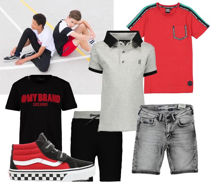 tienerkleding, mybrand kinder tshirt, crush denim