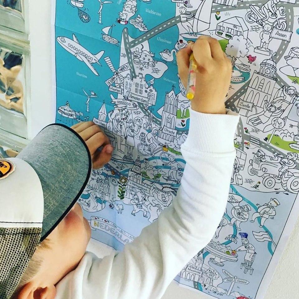 very mapping kleurplaat, kleurplaat nederland