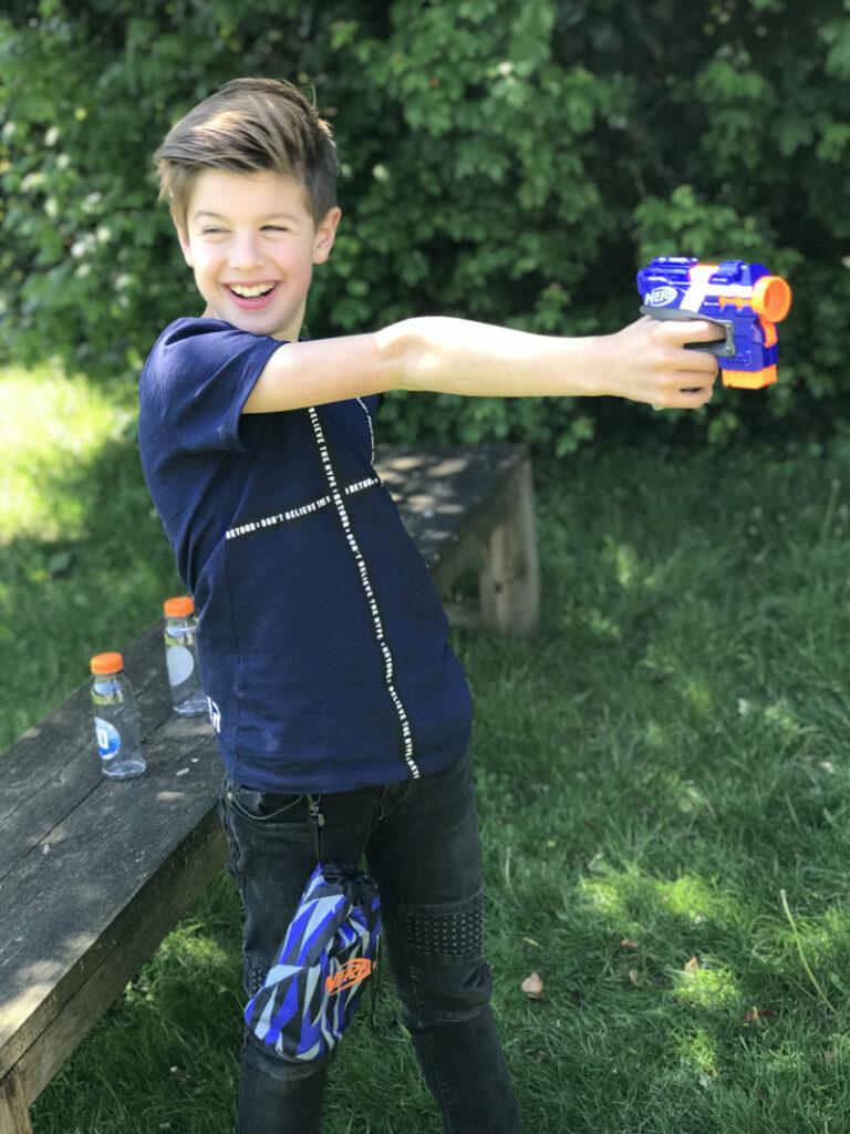 nerf firestrike, nerf pistool, jongensspeelgoed, speelgoed jongen 9 jaar