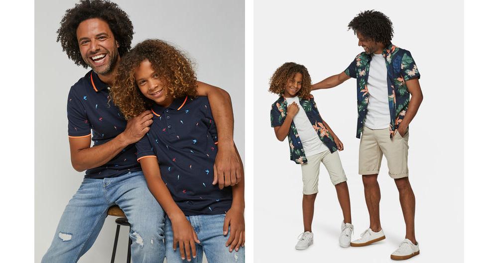 twinnen met papa, vader en zoon twinning, kleding twinnen, twinning is winning