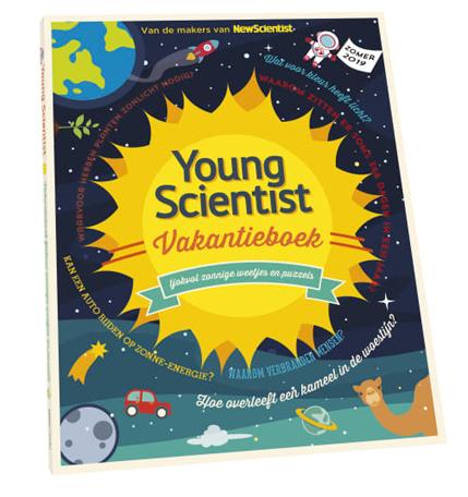 Young Scientist Vakantieboek, leer alles over de zon, vakantie doeboek, vakantieboek jongens