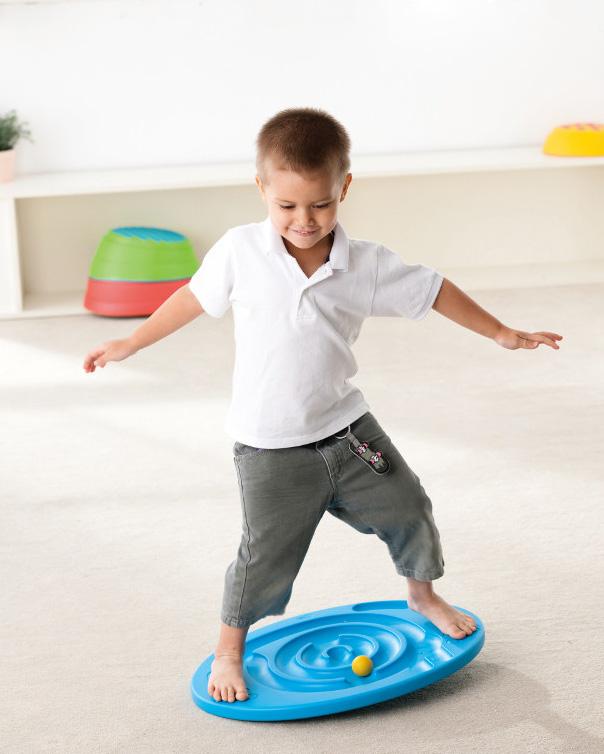 doolhof balans spel, balans bord rond, sensorische producten, educadora webshop, motorisch speelgoed