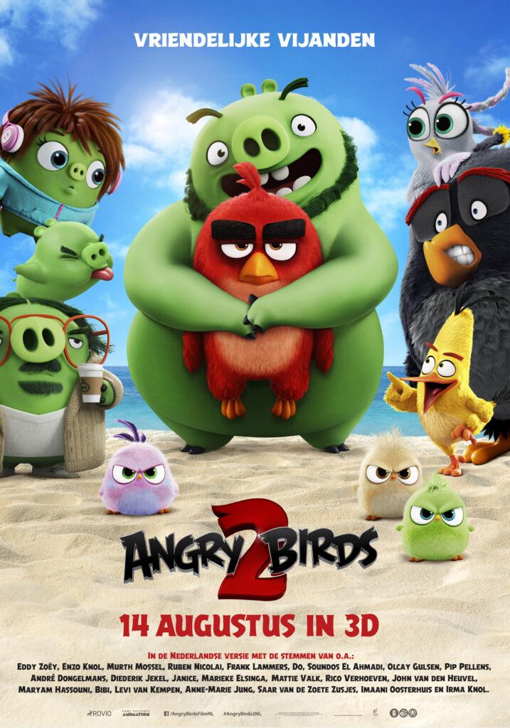 Angry Birds 2, bioscoopkaartjes winnen, win bioscoopkaartjes