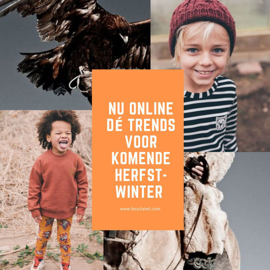 trends jongenskleding, Trends kinderkleding winter 2019-2020, de trends voor winter 2020, boyslabel