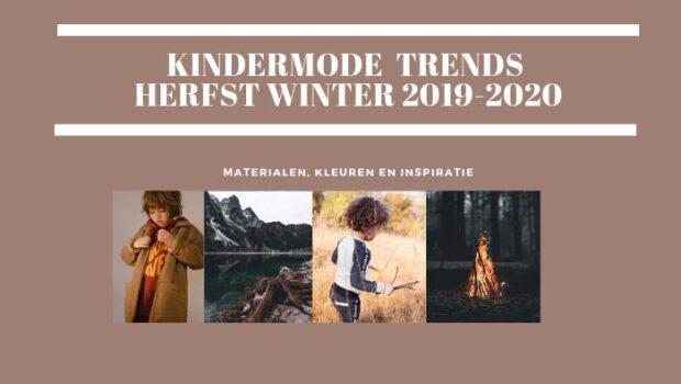 Trends kinderkleding winter 2019-2020, trends kinderkleding