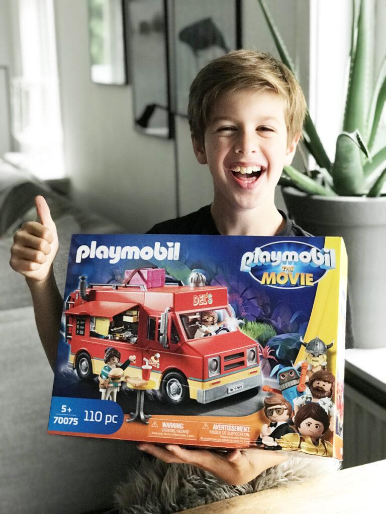 foodtruck playmobil, speelgoed thema playmobil film
