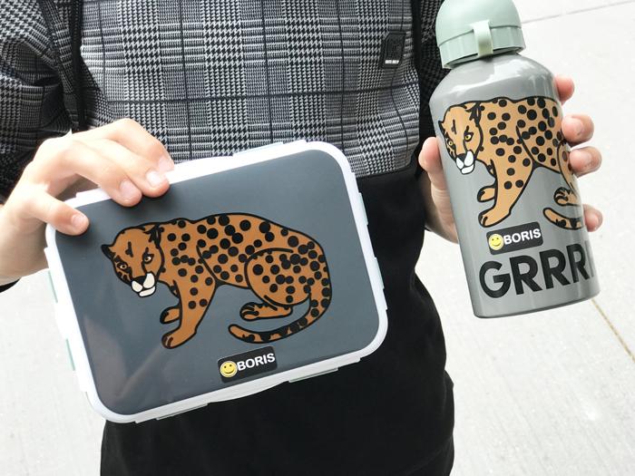 tijger broodtrommel, tijger drinkbeker