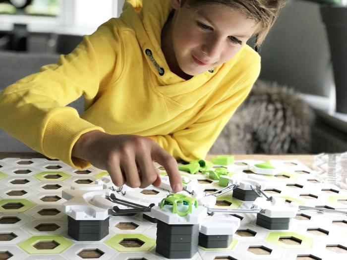 gravitrax, kogelbaan, gravitrax startersset, gravitrax speelgoed, gravitrax review, boyslabel, speelgoed review, jongensspeelgoed