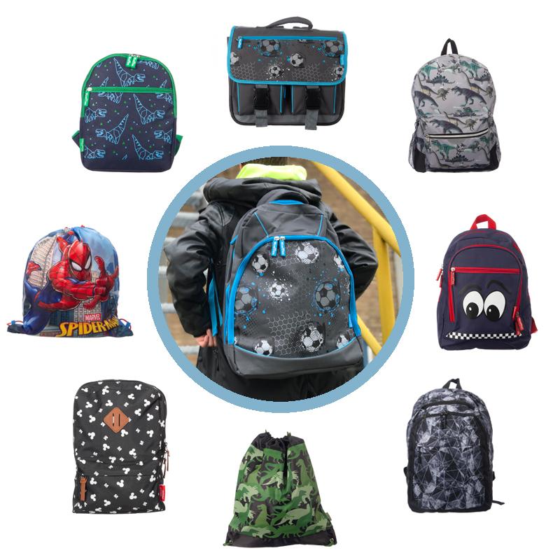 schooltassen, kindertassen, boekentasjes, goedkope rugtas kind, bristol