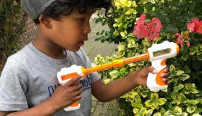 slijm geweer, slijm pistool, SES Slime battle blaster, jongensspeelgoed
