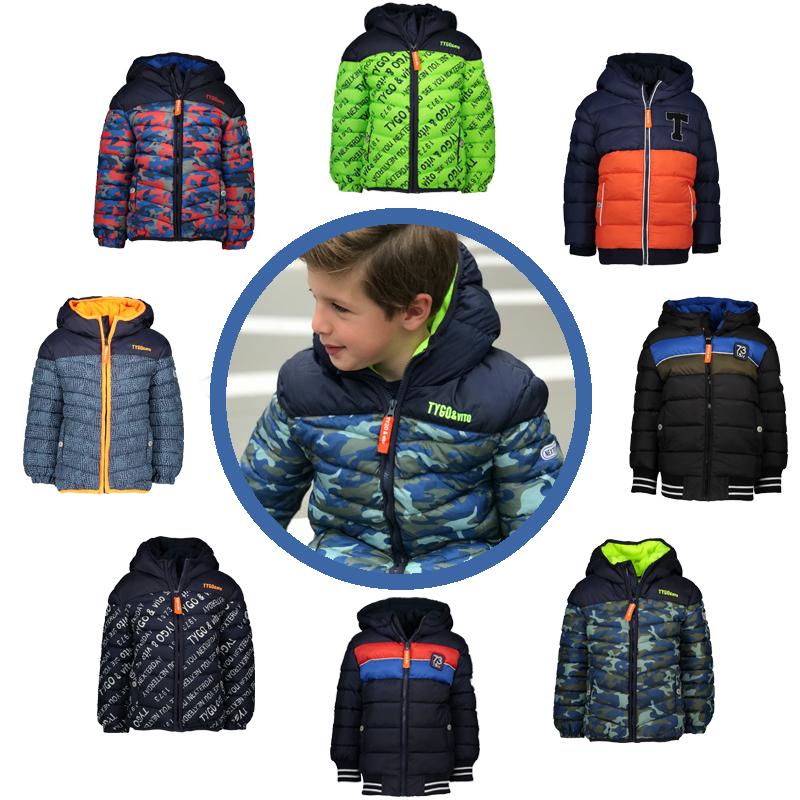 winterjassen jongens 2019-2010, winterjas, tygo vito jas, tygo vito winterjassen, goedkope winterjas kind
