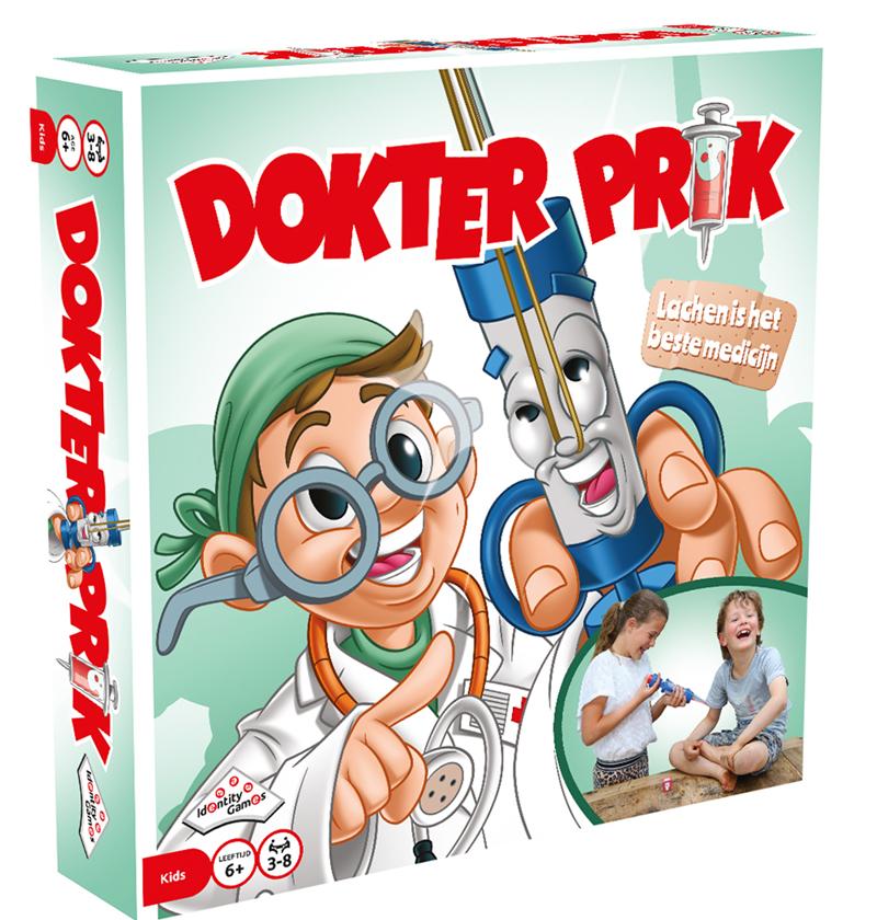 dokter prik spel, speelgoed winnen