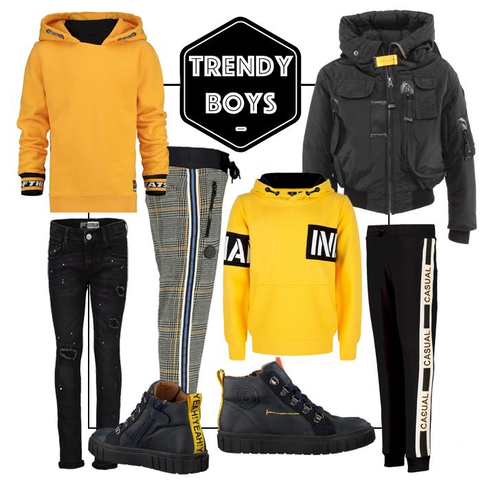 gele sweater jongens, gele outfit jongens, get hte look jongens kleding, boyslabel, shopping , get the look jongens kleding, boyslabel, collage jongenskleding, vingino kleding, raizzed, indian blue jeans, parajumpers